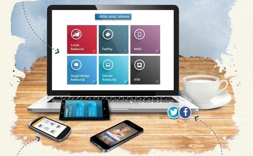 DenizBank'tan Şubesiz Bankacılık: Dijital Deniz