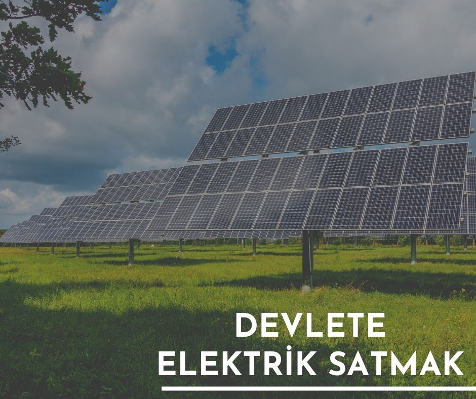 Devlete Elektrik Satmak