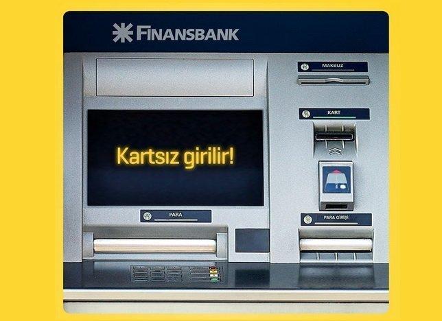 Finansbank Enpara'dan ATM'de Kartsız İşlemler
