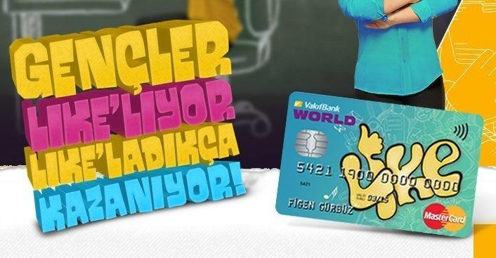 VakıfBank: Like Card Kredi Kartı [İnceleme]